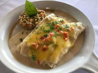 Plate Of Enchiladas